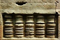 古老雕刻的砂岩 免版税库存照片