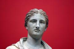古老雕塑 免版税图库摄影