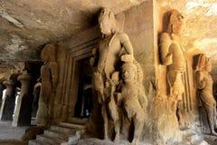 古老雕塑 库存照片