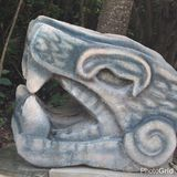 古老雕塑 免版税库存图片