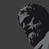 古老雕象向量 免版税图库摄影