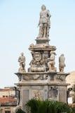 古老雕象在巴勒莫 免版税库存照片