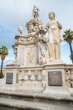 古老雕象在巴勒莫 免版税图库摄影