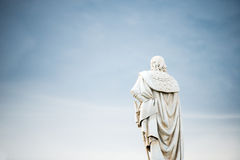 古老雕象在巴勒莫 免版税库存图片