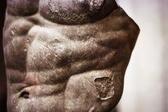 古老雕象胸象 库存照片