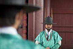 古老韩文战士 免版税库存图片