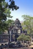 古老高棉寺庙, 11世纪, Baphuon寺庙在暹粒,柬埔寨 库存图片