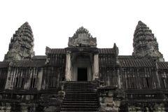 古老高棉寺庙 库存图片