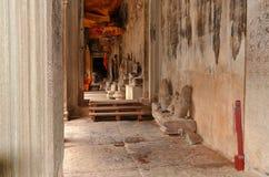 古老高棉建筑学 免版税库存图片