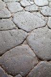 古老鹅卵石路 免版税库存照片