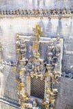 古老600年城堡在Tomar,葡萄牙 图库摄影