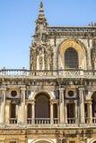 古老600年城堡在Tomar,葡萄牙 免版税库存照片