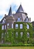 古老水城堡 库存图片