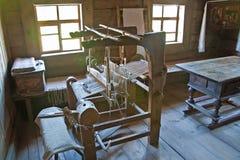 古老织布机 免版税库存图片