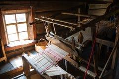 古老织布机 库存照片