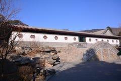 古老结构汉语 库存照片