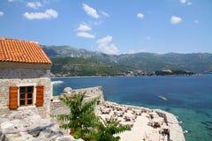 古老结构budva montenegro 库存图片