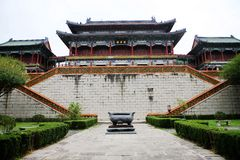 古老建筑学在中国 库存照片