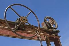 古老水闸技术 库存图片