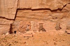 古老Anasazi村庄 免版税图库摄影