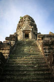 古老angkor柬埔寨寺庙wat 免版税库存照片