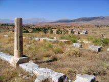 古老antioch pisidian废墟 库存图片