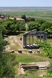 古老Apollonia,阿尔巴尼亚废墟  免版税库存照片