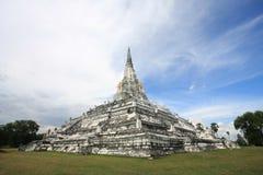 古老ayutthaya塔泰国 免版税库存图片