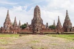 古老ayutthaya塔泰国 库存照片