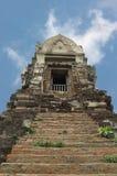 古老ayutthaya prang 免版税库存照片