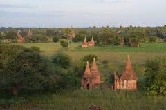 古老Bagan寺庙,曼德勒,缅甸 库存图片
