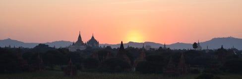 古老Bagan寺庙,曼德勒,缅甸 免版税库存图片