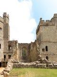 古老Bodiam城堡在苏克塞斯英国英国 免版税库存照片