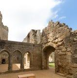 古老Bodiam城堡在苏克塞斯英国英国 库存图片