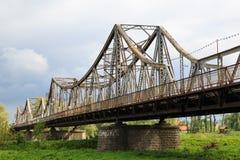 古老bridger 城市Galich 乌克兰 图库摄影