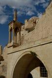 古老cappadocia教会 免版税库存图片