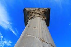 古老Chersonesos的废墟 免版税库存图片
