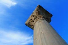 古老Chersonesos的废墟 免版税库存照片