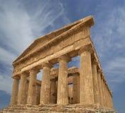 古老concordia希腊西西里岛寺庙 免版税库存图片