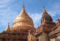 古老Dhammayazika塔在Bagan, Myanm曼德勒分部  免版税库存照片