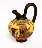 古老dionysus大口水罐神希腊照片 免版税库存图片