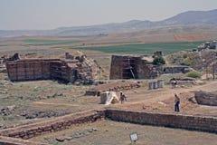 古老Gordium在土耳其 库存图片