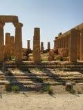 古老hdr寺庙 库存图片