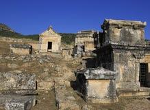 古老Hieropolis,土耳其 免版税库存照片