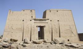 古老Horus寺庙 免版税库存照片