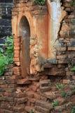 古老inthein缅甸破庙 图库摄影