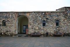 古老Khor Virap修道院在亚美尼亚 免版税库存图片