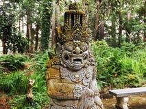 古老mayans雕象 库存图片