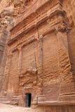 古老nabatean废墟 免版税库存图片