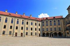 古老Nesvizhsky城堡在涅斯维日 库存图片